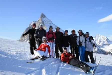 Gi with L1 group in Zermatt